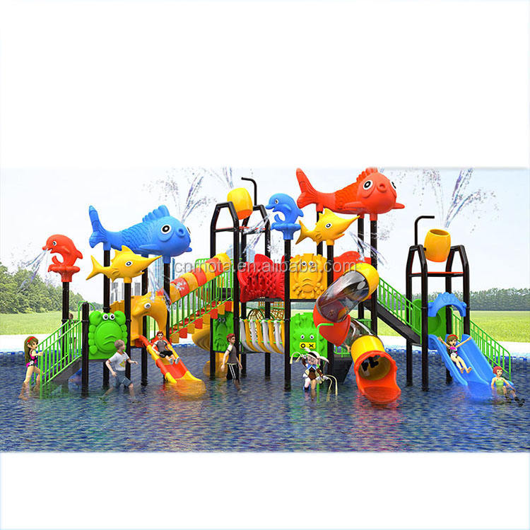 Outdoor Plastic water slides for adults