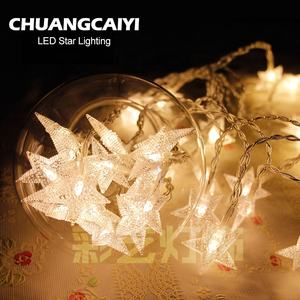 40 Led 5m Fairy Outdoor Garden Decoration String Light Star With USB Plug