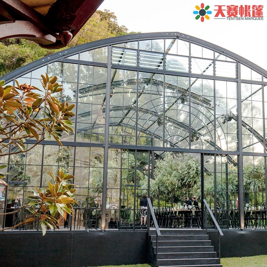 Assurance order accepted Cheap factory easy erect transparent pyramid inflatable tentindustrial air conditions for marquee