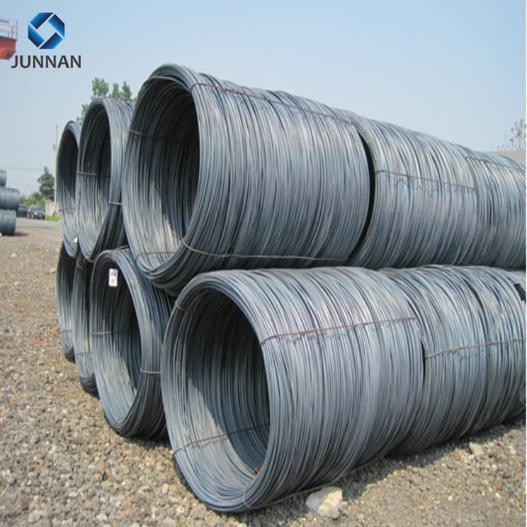 Hot rolled 38b low carbon prime alloy or unalloy steel 5.5mm screw wire rod in coils