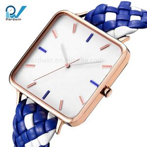 Guangzhou Wholesale Private Label Watch Manufacturers Square Shape Watches