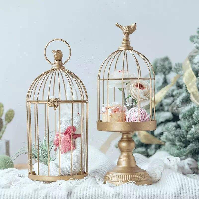 Wedding Table Centerpieces Vintage Lantern Birdcage Wedding Centerpiece With Flower Decoration For Table Decor
