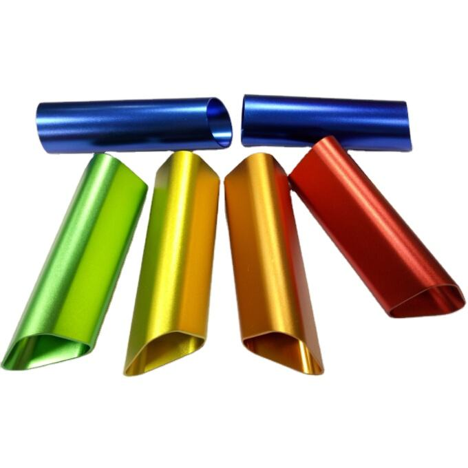OEM High Quality CNC Custom Anodized Threaded Rectangular Aluminum Tube