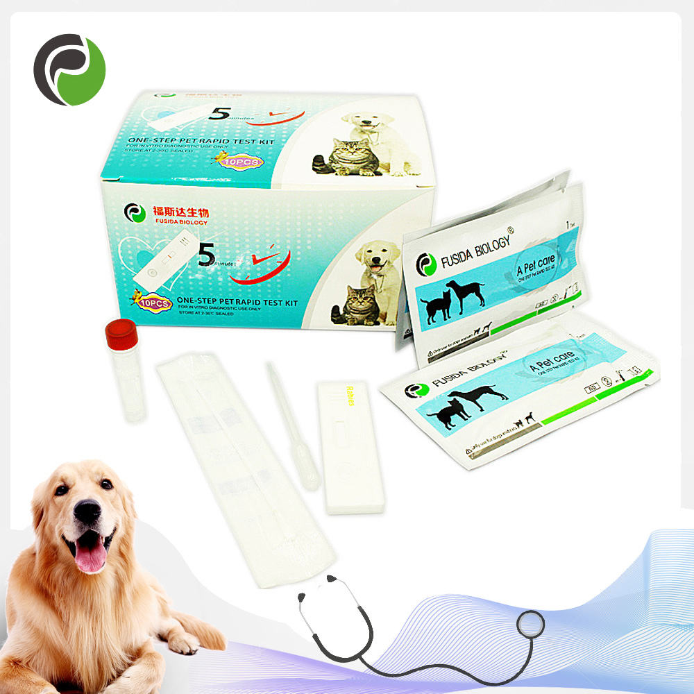 Canine Adenovirus Type I A g Rapid Test factory for animal hospital