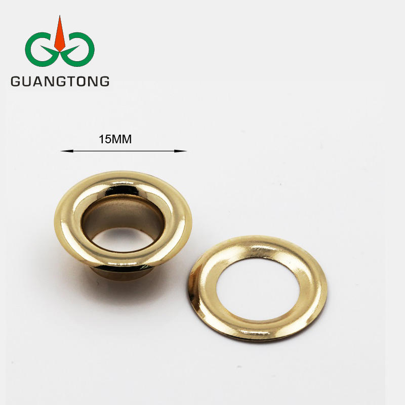 High Quality 15mm Metal Rivet Eyelets with Grommets for Garments