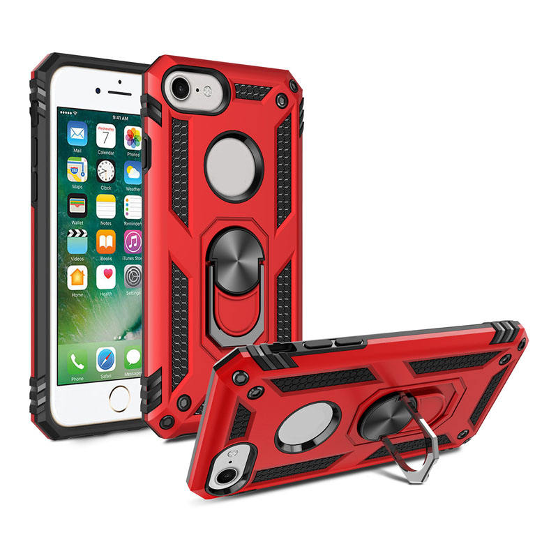 fundas para celulares armor kickstand pc tpu phone case for iPhone SE2 2020