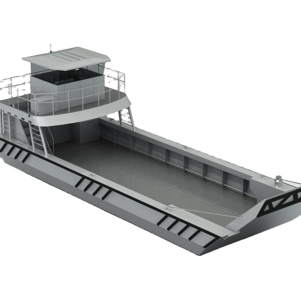 15m V hull aluminum landing craft boat barge for sale