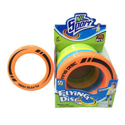 Free Sample Perfect Sport Gift Plastic PP Flying Ring Disc