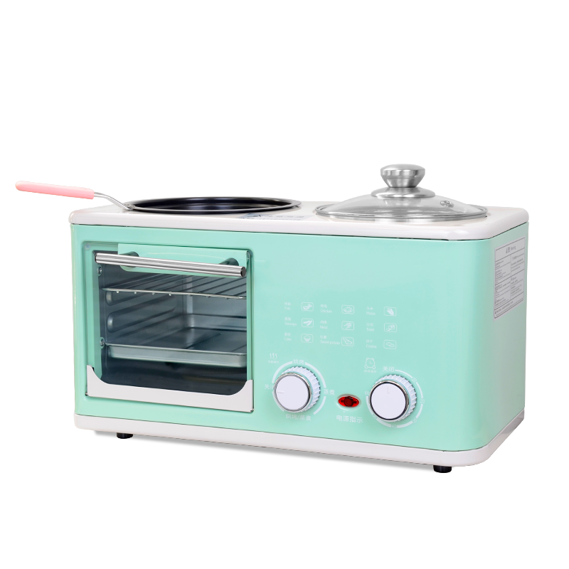 4 in 1 breakfast machine four functions can meet your masterly cooking frying boiling steaming baking