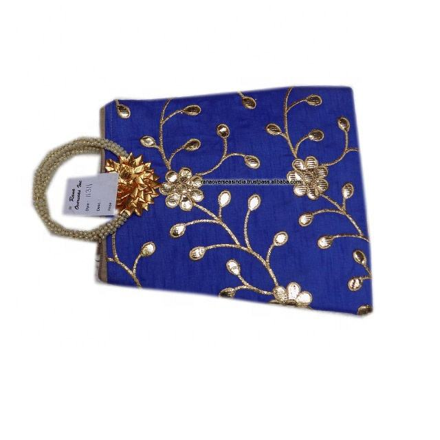 Clutch Banjara Bag For Woman's And Girls Blue color