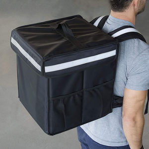 Custom Commercial Quality Insulated Food Warmer Food Delivery Backpack Bag