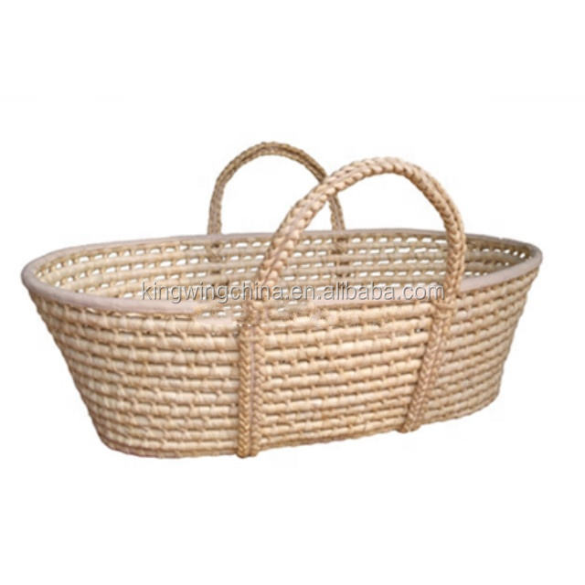 Certified Eco-friendly moses basket swing/baby moses crib/carrier baby basket