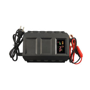 Mobil Otomatis Smart Battery Charger 12V 20A Memimpin Cepat-Charger Baterai