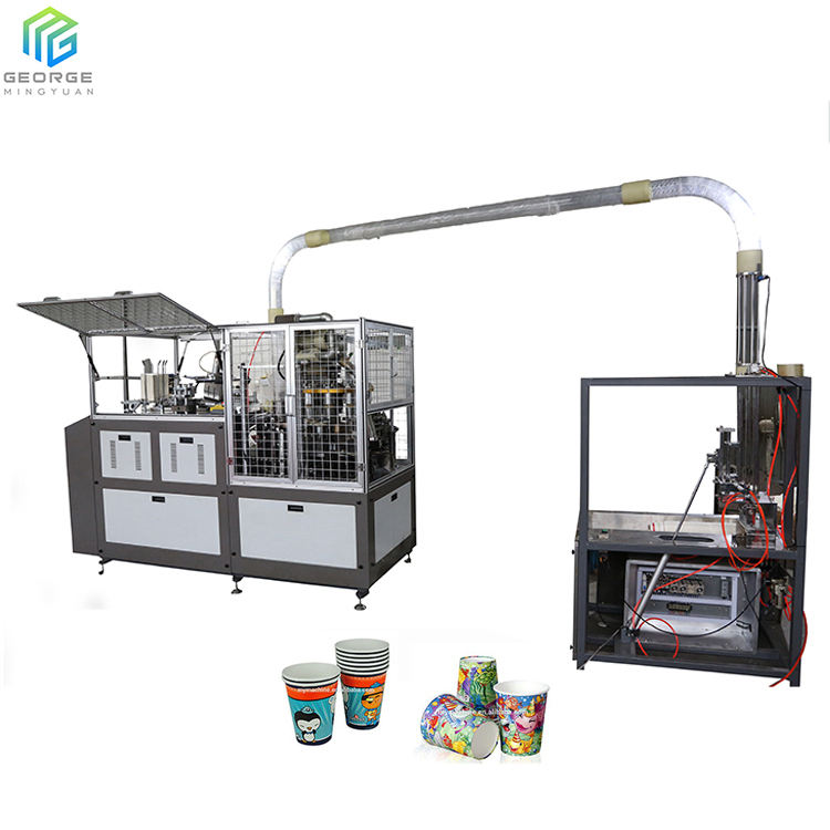 Printed Logo Cup Cake Paper Cutting Inject Printing Machine For Sale