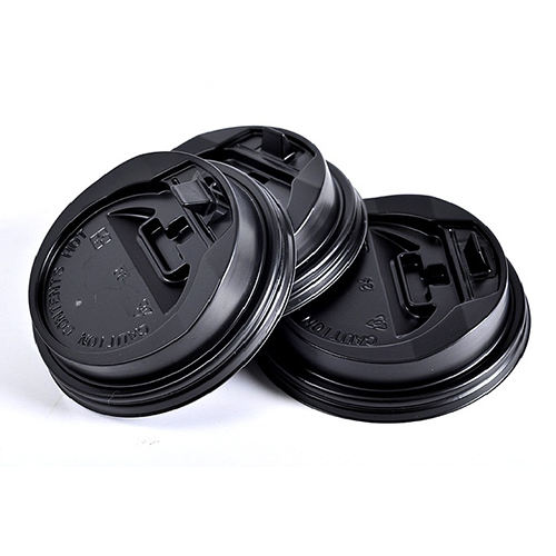 Hot selling custom disposable 12oz 16oz plastic paper coffee cup lid cover
