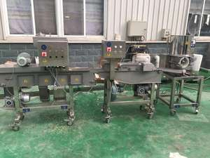 KFC chicken nuggets production line burger patty making machine hamburger patty forming machine