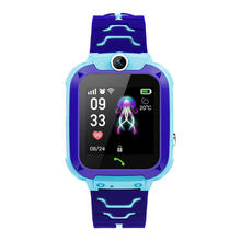 2019 newest watch child gps watch Q12 kids Smart Watch with IP67 waterproof SOS camera cell phone for kids