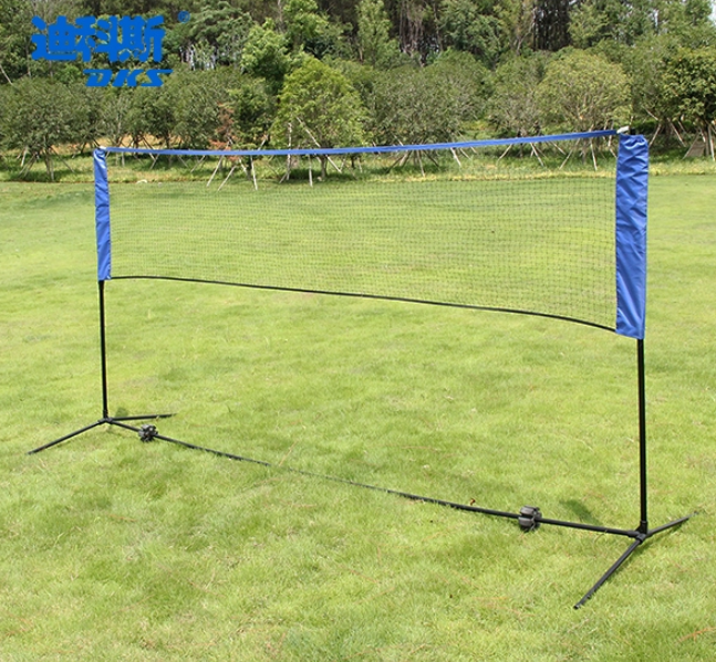 Foldable portable Badminton Net set indoor use