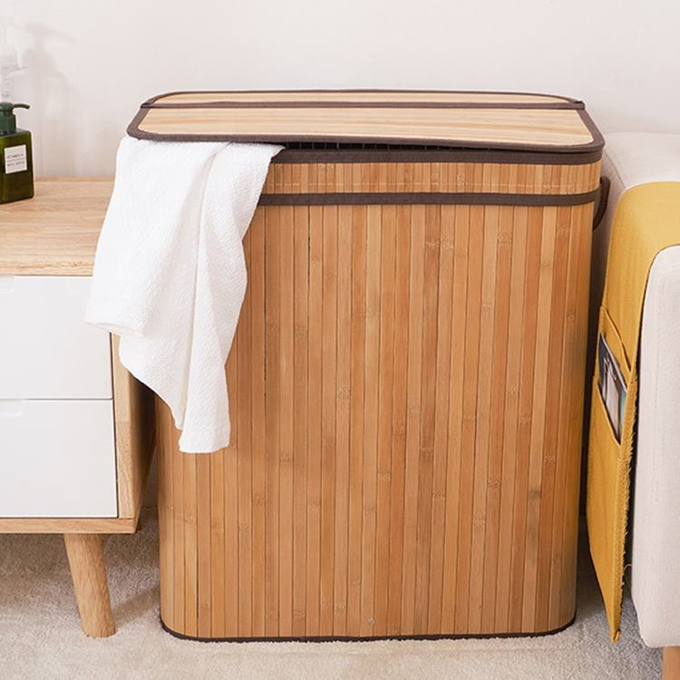 Home using eco-friendly foldable rectangular large removable dirty clothes basket