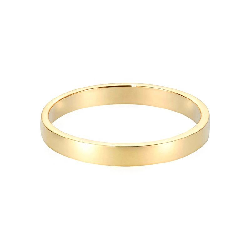 Minimalist jewelry cheap sterling silver wedding band 4 gram gold ring for men