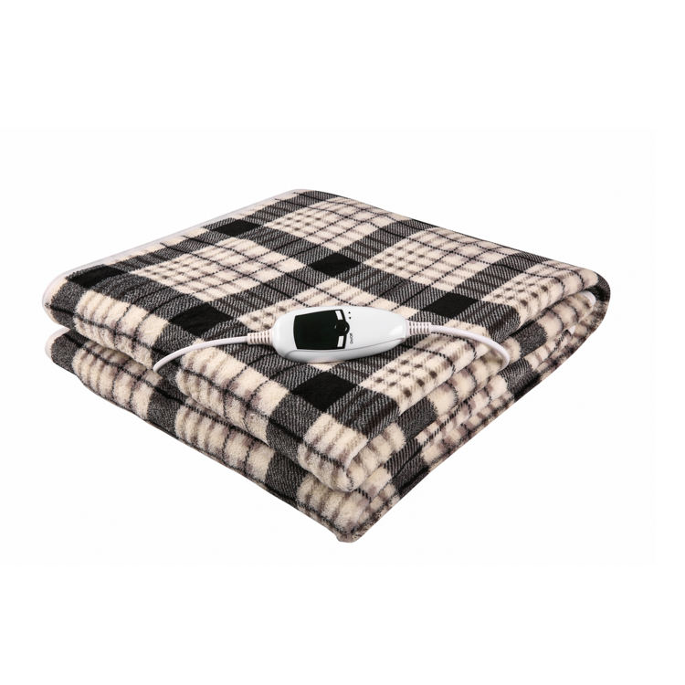 2020 Easy Home Heated Throw Electric Thermal Heater Blanket
