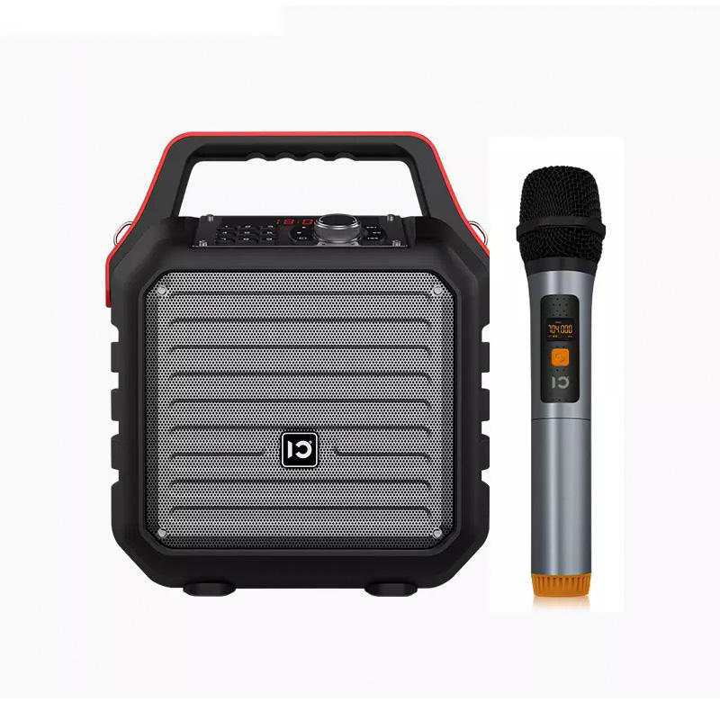 Portable Bluetooth Speakers with Subwoofer Super Bass Wireless Outdoor/Indoor Party Karaoke Speaker