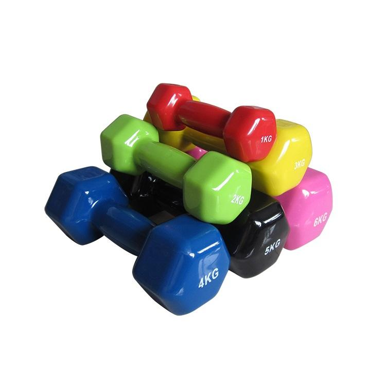 RIAO Color Vinyl Coated Dumbbell