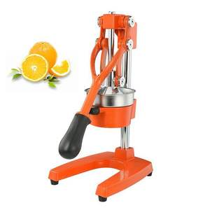 Premium Kwaliteit Heavy Duty Manual Oranje Juicer en Lime Squeezer Pers Stand, Citruspers