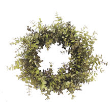 Cost-effective artificial autumn leaves christmas wreath making supplies artificial leaves eucalyptus autumn door wreath