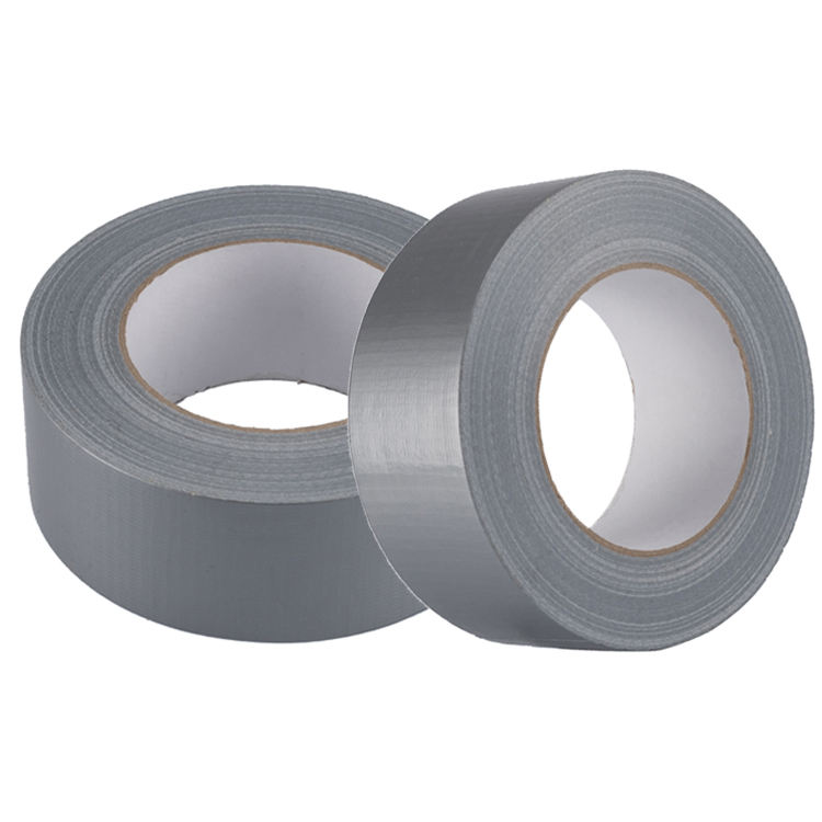 Sliver Black Hot Melt Good Price Gaffer Strong Adhesive Waterproof Gaffa Cloth Duct Tape