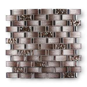 New arrival 8mm TV background wall tile mozaic mirror mosaic tile sheet backsplash glass mosaic