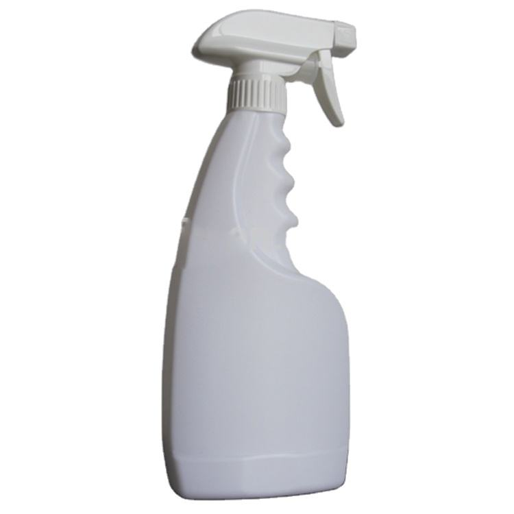 Hot White 500ml HDPE Trigger Sprayer Bottles for Clearing Products