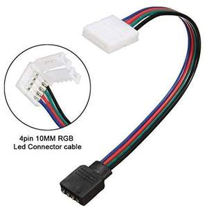 8 มม.10 มม.12 มม.5050 RGB Light Strip 2Pin 3Pin 4Pin 5Pin LED Connector