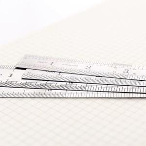 Office School Supplies Art Accessories 1pcs Metal 30cm Stainless Steel Straight Ruler Measuring Scale Ruler