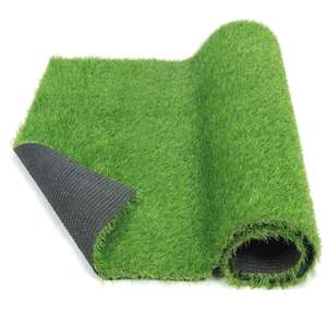 25mm garden lawn Green turf 4 colors grass artificial synthetic for landscaping india market