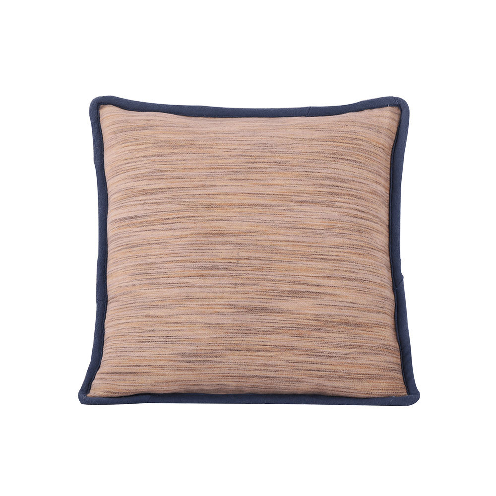 Promotional unique throw pillow wool cotton cushion