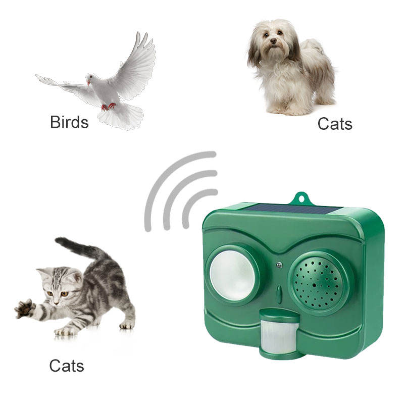 electronic bird scarer bird repeller wild pest bird bat solar ultrasonic animal repeller animal management