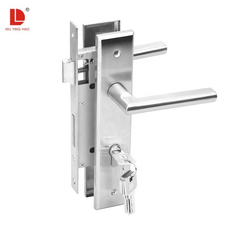 Wuyinghao Rvs Privacy Security Interieur Insteekslot Deurklink Set Voor Houten Deur