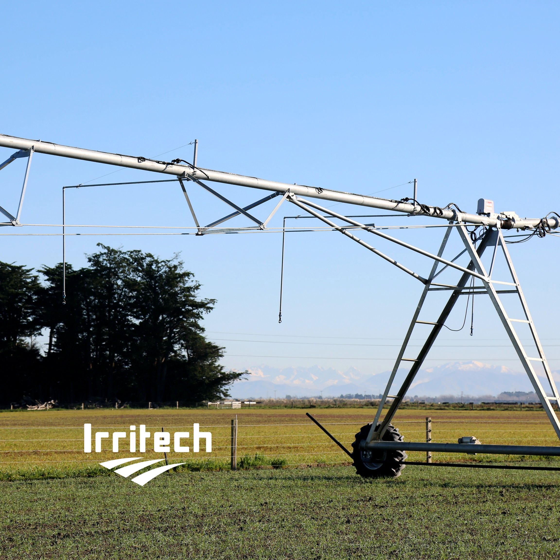 IRRITECH Automatic Fertilizers Agricultural Machinery Center Pivot Irrigation System in Egypt