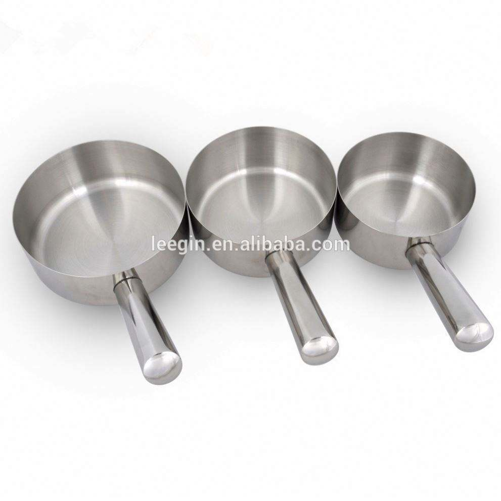 Leegin OEM Kitchen Item Stainless Steel Water Ladle Cookware Set