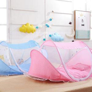 High quality portable folding 3-pack crib baby mosquito net tent