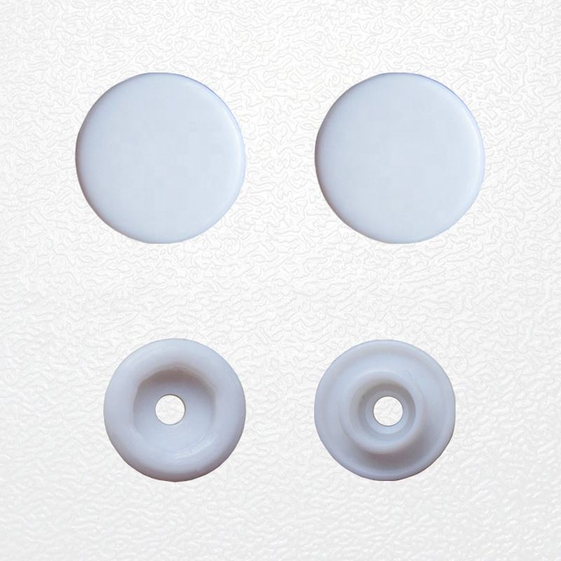 High Quality 4 Parts Buttons Eco-friendly POM Material Plastic Snap Button