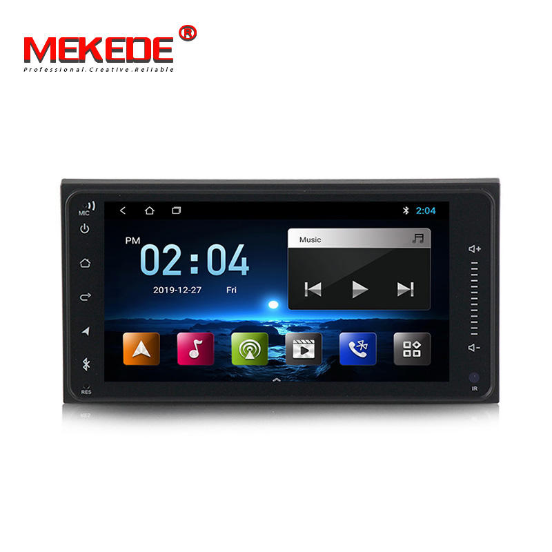 Mekede 7 Inch Android 9 4Core 1G +16G Car Video for Toyota Camry RAV4 Highlander hilux Universal Corolla GPS Audio Radio