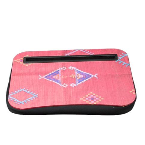 Cushion Laptop Pad ,Portable computer desk that can be placed on the bed, various colors can be customized for office usage