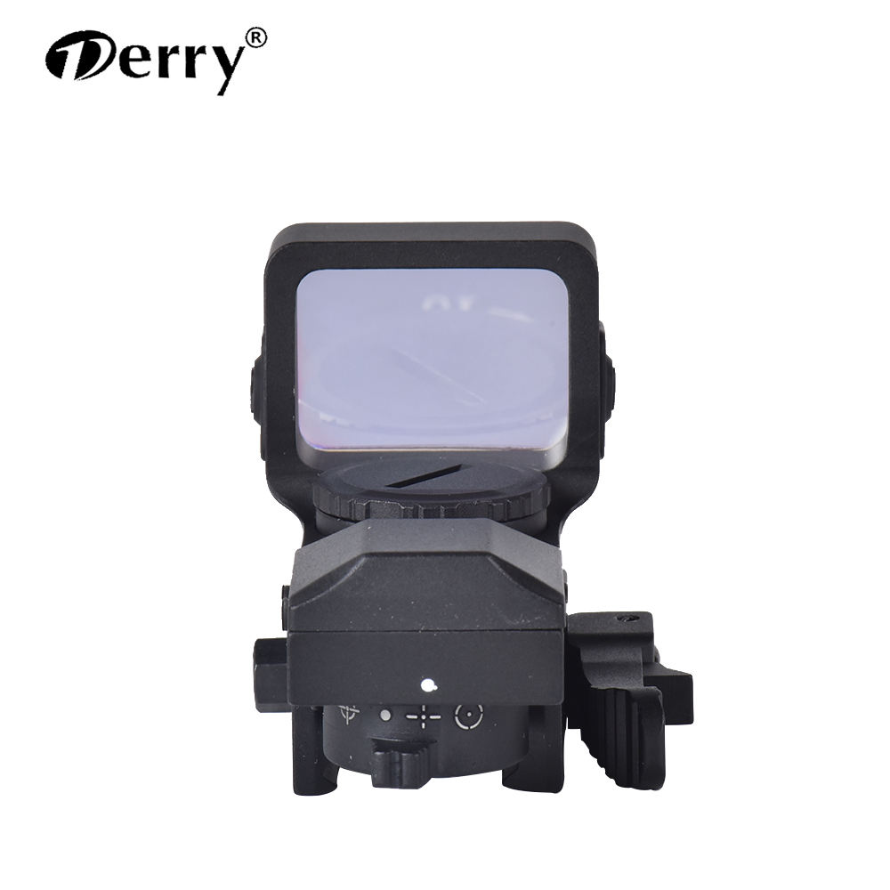 Derry RD2-008 Tactical Hunting Sight 4 Reticle Red Green Dot Laser Reflex Sight Scope