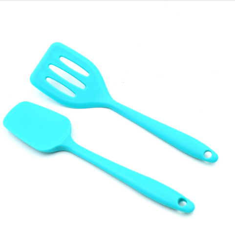 kitchen gadgets set silicone turner and spatula useful cooking utensils