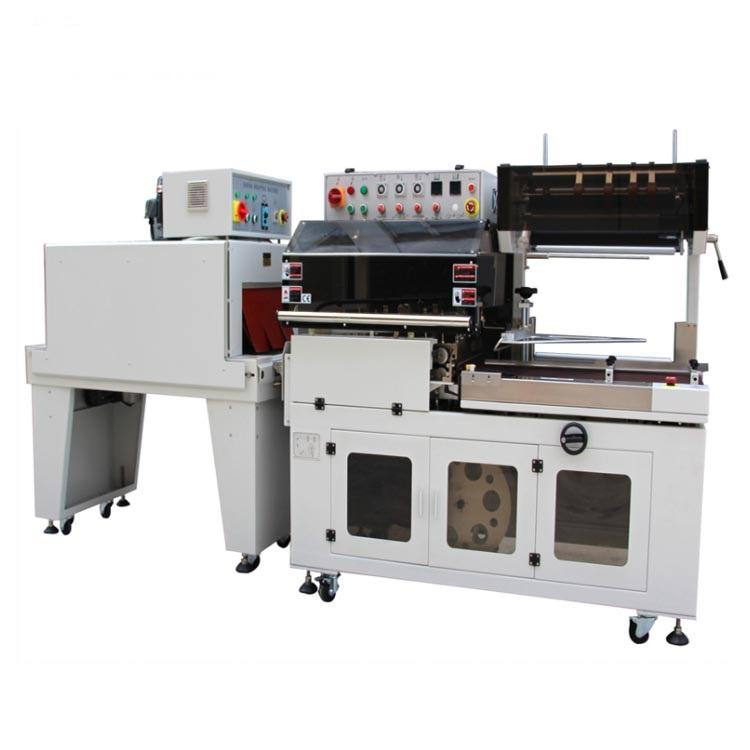 Automatic l sealer shrink tunnel heat shrink packaging machine