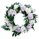 Door decoration Artificial Flower wreath 18inch Home Furnishing Large Flower Wreath