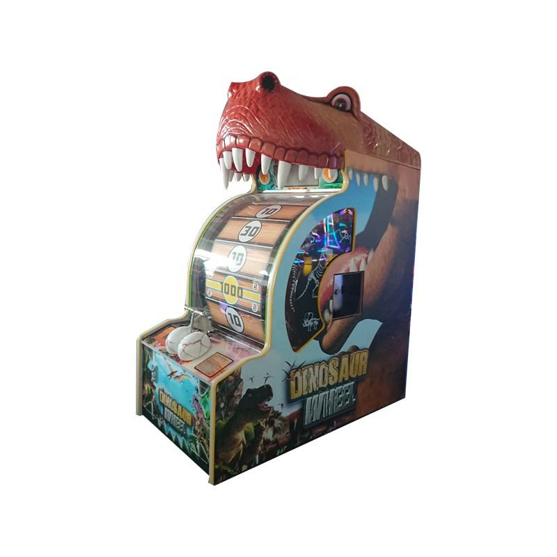 Redemption game machine coin operated electric fortune spinning lucky wheel game