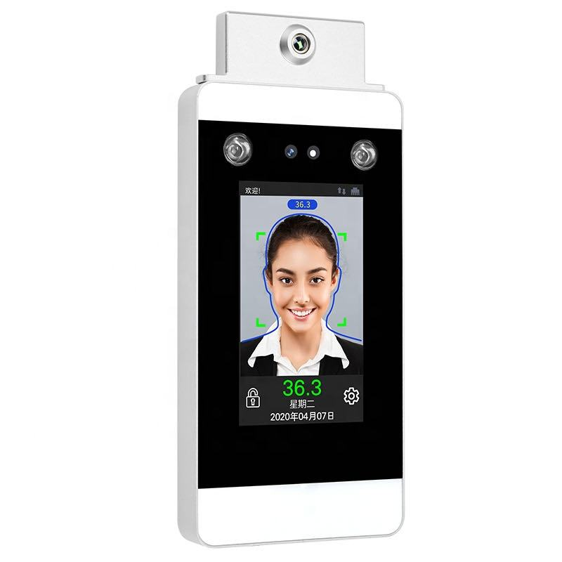 Biometric Dynamic Facial Recognition Access Control Device with Temperature Detection Terminal